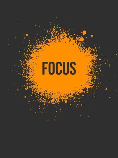 Focus Splatter 3-NaxArt-Art Print