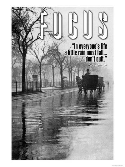 Focus--Art Print