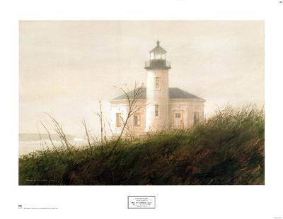 Fog at Bandon (detail)-Thomas William Jones-Art Print