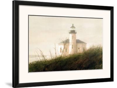 Fog at Bandon (detail)-Thomas William Jones-Framed Art Print