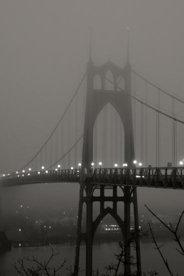 Fog at Dawn II-Erin Berzel-Photographic Print