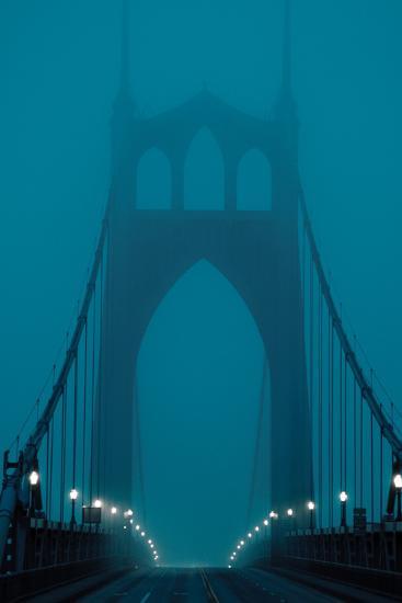 Fog at Dawn III-Erin Berzel-Photographic Print