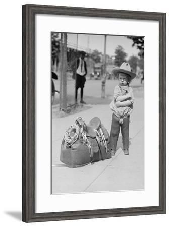 """Fog Horn Clancey""--Framed Art Print"