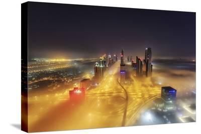 Fog Invasion-Mohammad Rustam-Stretched Canvas Print