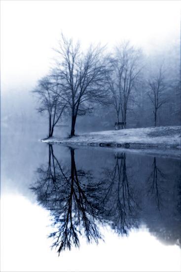 Fog on the Lake I-Alan Hausenflock-Photographic Print