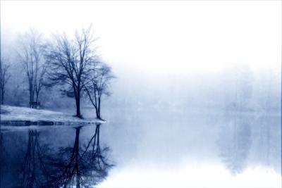 Fog on the Lake III-Alan Hausenflock-Photographic Print
