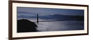 Fog over Golden Gate Bridge, San Francisco, California, USA