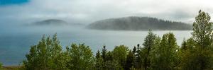 Fog over Lake Superior, Marathon, Ontario, Canada