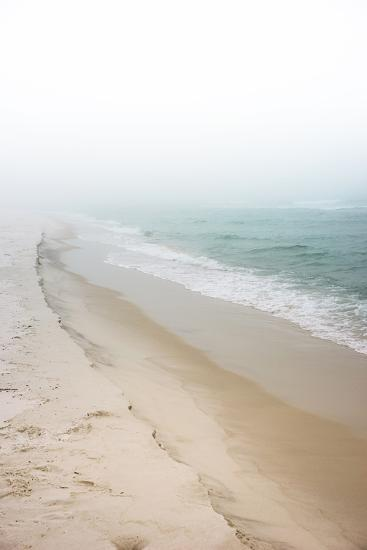 Foggy Dreamy Day at the Beach-forestpath-Photographic Print