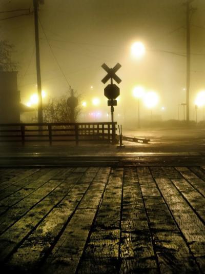 Foggy Night-Jody Miller-Photographic Print