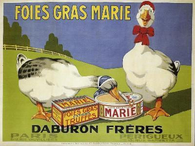 Foiesgrasmarie--Giclee Print