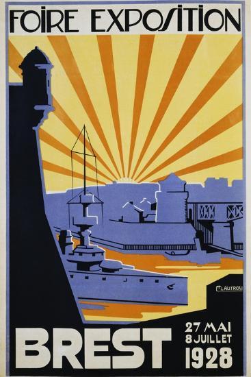 Foire Exposition Brest Poster-C. Lautrou-Giclee Print