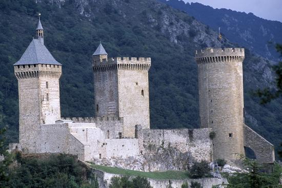Foix Castle, Midi-Pyrenees. France, 11th-15th Century--Giclee Print