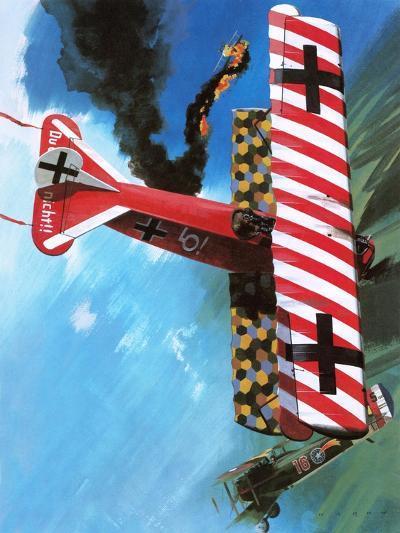 Fokker D Vii-Wilf Hardy-Giclee Print