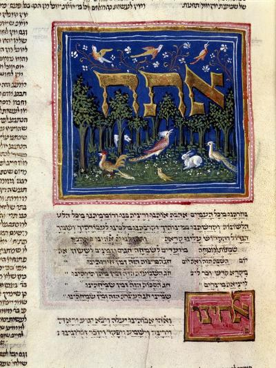 Fol.115V from 'The Rothschild Miscellany', Northern Italy, C.1450-80--Giclee Print
