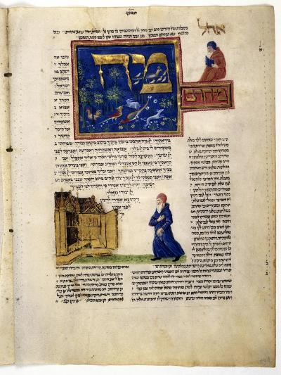 Fol.79V from 'The Rothschild Miscellany', Northern Italy, C.1450-80--Giclee Print