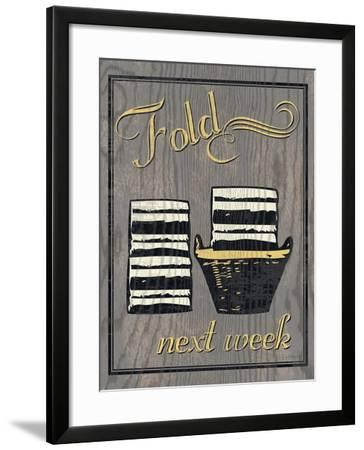 Fold - Gray-N. Harbick-Framed Art Print