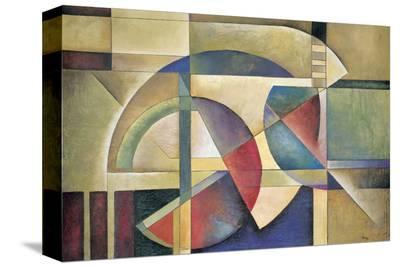 Folded Sphere-Marlene Healey-Stretched Canvas Print