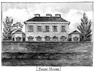 Foley House, C.1800--Giclee Print