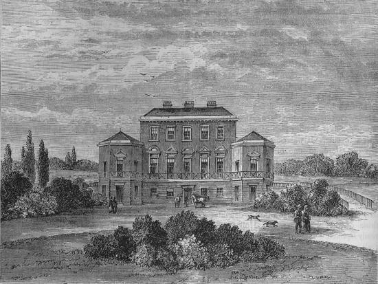 Foley House, Marylebone, Westminster, London, c1800 (1878)-Unknown-Giclee Print