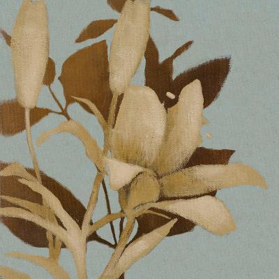 Foliage on Teal I-Lanie Loreth-Premium Giclee Print