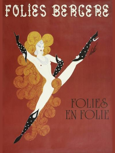 Folies Bergere Risque--Giclee Print