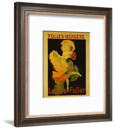Folies Bergere-Jules Ch?ret-Framed Art Print