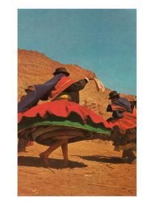 Folk Dancing in Bolivia