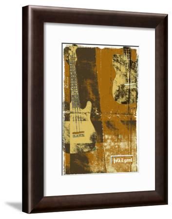 Folk It Good II-Pascal Normand-Framed Art Print