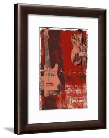 Folk It Good III-Pascal Normand-Framed Art Print