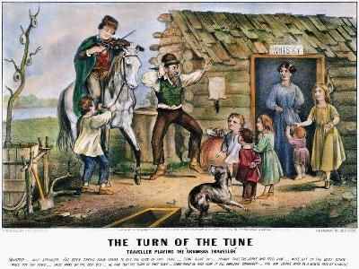 Folk Tradition, 1870-Currier & Ives-Giclee Print