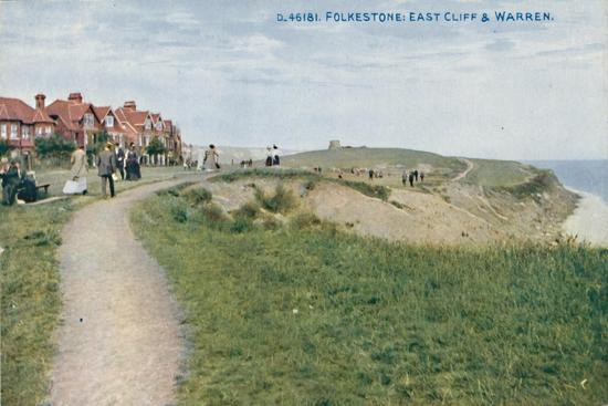 'Folkestone: East Cliff & Warren', late 19th-early 20th century-Unknown-Giclee Print
