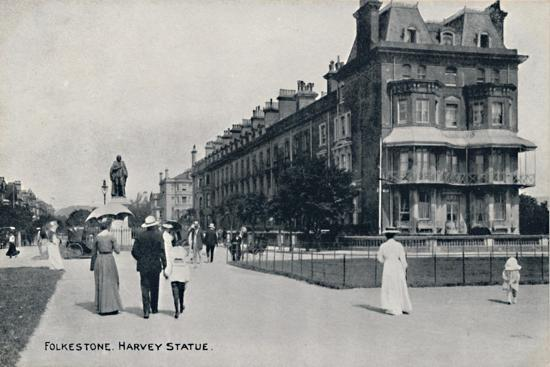'Folkestone. Harvey Statue', late 19th-early 20th century-Unknown-Giclee Print
