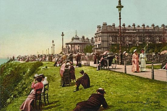 'Folkestone. The Lees', late 19th-early 20th century-Unknown-Giclee Print