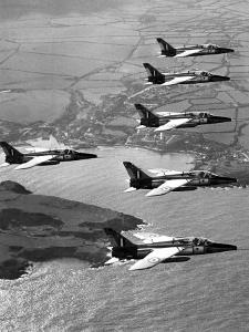 Folland Gnat Was Introduced to the Press at the RAF Valley Station