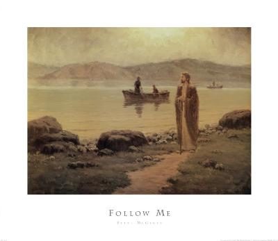 Follow Me-Steve McGinty-Art Print