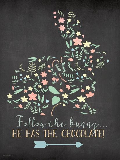 Follow the Bunny-Jo Moulton-Art Print