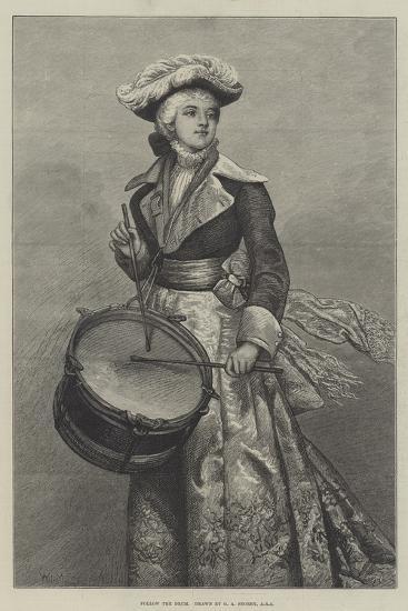 Follow the Drum-George Adolphus Storey-Giclee Print