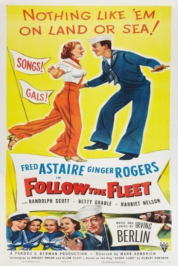 Follow The Fleet--Art Print