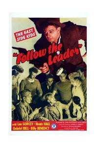 Follow The Leader, Leo Gorcey, Huntz Hall, William Benedict, 1944