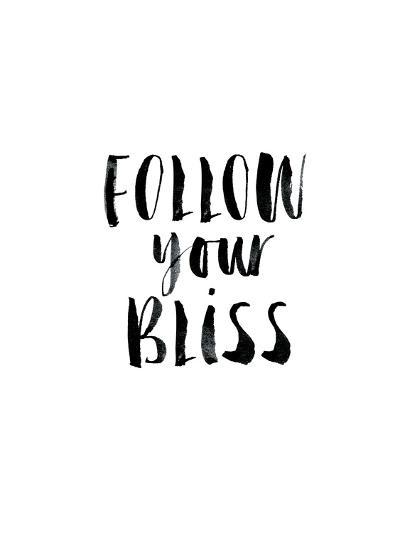 Follow Your Bliss-Brett Wilson-Art Print