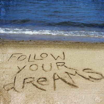 Follow Your Dreams in the Sand-Kimberly Glover-Photographic Print