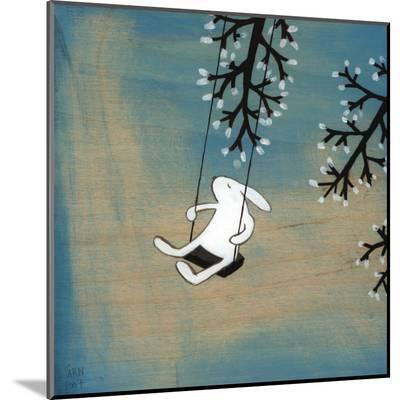 Follow Your Heart- Swinging Quietly-Kristiana P?rn-Mounted Print