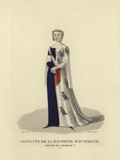 Follower of the Dauphine D'Auvergne--Giclee Print