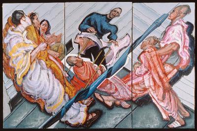 Followers of Krishna, 1996-Alek Rapoport-Giclee Print