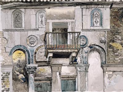 Fondaco Dei Turchi, Venice-John Ruskin-Giclee Print