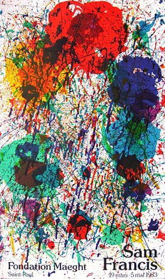Fondation Maeght-Sam Francis-Collectable Print