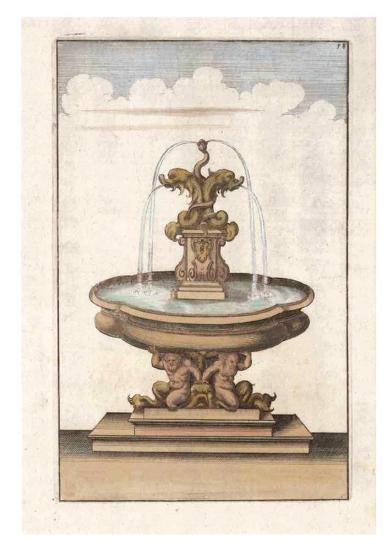 Fontain III--Art Print