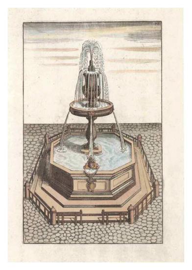 Fontain V--Art Print