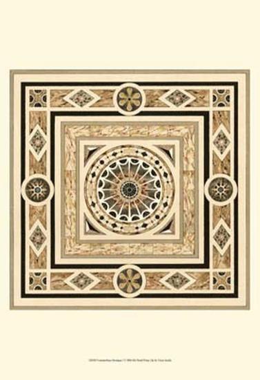 Fontainebleau Mosaique I--Art Print